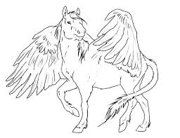 Pegasus Coloring Pages Printable Coloring Pages For Kids Coloring