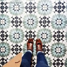 Decorative Cement Tiles Elegant Cement Tile Floor Regarding Bathroom Encaustic Geometric 18