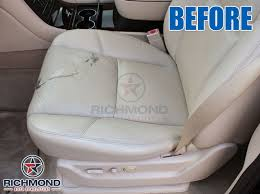 2007 2008 cadillac escalade leather seat cover driver bottom tan
