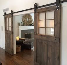 sliding barn doors. vintage custom sliding barn door with windows price is for one doors