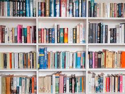 ... books on a book shelf stock photo ...