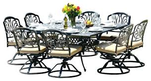 round outdoor dining table for 8 8 person patio table rectangular square outdoor dining table seats