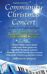Christmas Concert Poster Christmas Concert Poster 2015 Medium