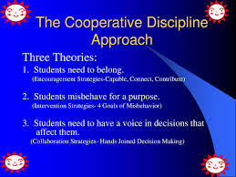 Welcome To Cooperative Discipline Ppt Download