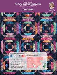 Log Cabin | quilt template by Quilting from the Heartland & Log Cabin Template Set · Log Cabin Template Set ... Adamdwight.com