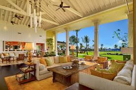 Open Space Living Room Experience Luxury Island Living At Kukuiula
