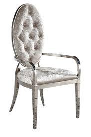 Paris Stuhl Chr 368 Barock Metall Chrom Esszimmer Stühle Mit Armlehne