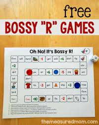 Free Games For Words With Bossy R The Measured Mom
