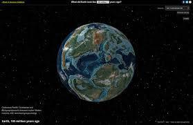 <b>Ancient</b> Earth globe
