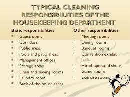 Duties And Responsibilities Of Housekeeping Staff Hmhub