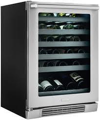 Undercounter Drink Refrigerator 24 Under Counter Wine Cooler With Left Door Swing Ei24wl10qs
