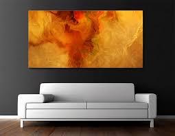 modern art abstract art painting canvas print warm embrace
