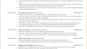 Sample Resume For College Student Seeking Internship Resume Format