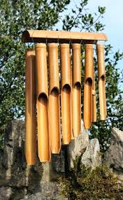 bamboo chimes large double bamboo wind chime fair trade gift bamboo chimes diy