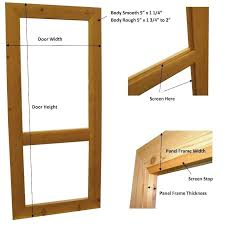 door jamb diagram. Door Thicknesses Diagram Single Screen Jamb Thickness Standard Internal