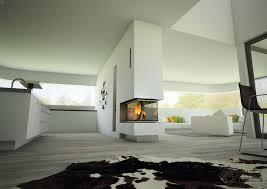 Küchen Design Kamin Freistehend