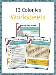 13 Thirteen Original Colonies Facts Information