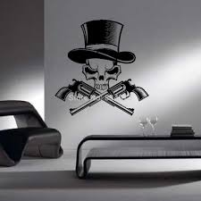 Skull Bedroom Decor Stickers Relief Picture More Detailed Picture About Skeleton