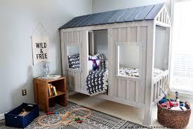 diy cabin bed