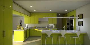 kitchen small l shape black black kitchen cabinets and lime green ceramic tiles backsplash also