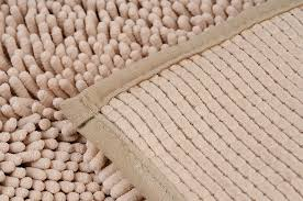 popular of microfiber chenille bath rug power threads microfiber chenille bathmat beige