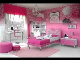 bedroom wallpaper design ideas. Pink Wallpaper For Girls Room Design Ideas Youtube Home Designing Inspiration Bedroom T