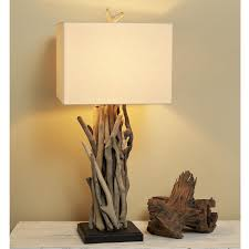 Driftwood Lighting Driftwood Cluster Table Lamp Shades Of Light