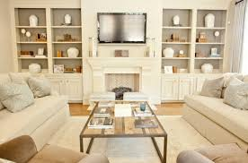 Normal Living Rooms With Tv Livingroom Surprising Room Ivory Cream