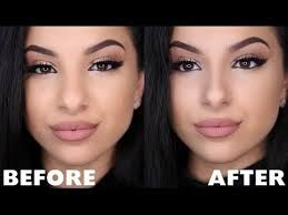 make your nose look smaller with makeup nose contour bulbous