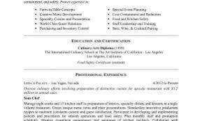 Commi Chef Resume Sample Lovely Resume Template For Chef & Plete ...
