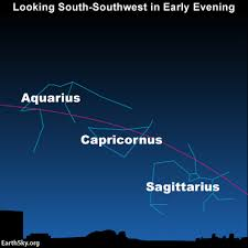Tonights Star Chart Find Constellations Of The Zodiac Sky Archive Earthsky