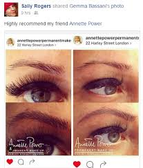 smpu eyebrowsonfleek archaddicts annettepower harleystreet celebrities eyebrowsonpoint ombre microblading annettepower co uk