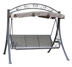 sentinel cosmetic damaged westwood garden metal swing hammock 3 seater chair bench sc03