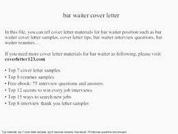 Description For Waitress On Resume. Example Resume For Waitress ...