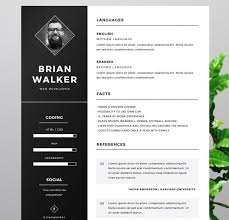 Resume Templates That Stand Out Delectable Free Resume Templates 40 Creative Cv With Regard To 40 Resume Stand