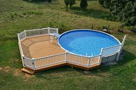 square above ground pool with deck. Deck Around A Pool Square Above Ground With