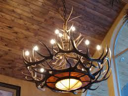 western light fixtures cast antler semi flush ceiling 12