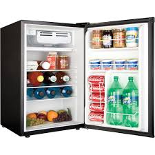 Small Bedroom Refrigerator Haier 45 Cu Ft Refrigerator Virtual Steel Walmartcom