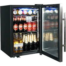 under bar refrigerators fridge at glass door wonderful wine and beverage cooler small front home refrigerator