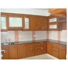 Kitchen cabinets wood Unitedstatestelevision Wooden Kitchen Cabinet Kitchen Craft Wooden Kitchen Cabinets In Ernakulam Kerala Wooden Kitchen