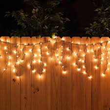 lighting for parties ideas. 150 Icicle Lights, Clear, Green Wire - Yard Envy Lighting For Parties Ideas