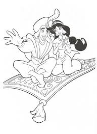 Small Picture Aladdin Coloring Pages Free To Print Aladdin Gives Jasmine