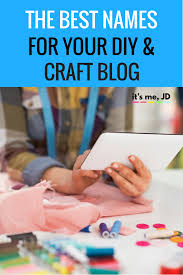 best names for diy and craft blog