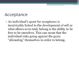 essay on acceptance co essay on acceptance