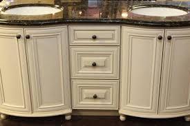 63 double sink antique white bathroom vanity