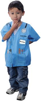 my first career gear doctor blue toddler costume com