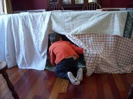How To Build an Indoor Fort Apartment Therapy