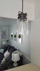 mason jar pendant light lamps plus