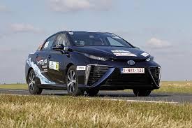 Toyota Mirai hydrogen fuel-cell car wins Monte Carlo e-Rally
