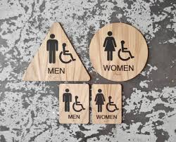 Handicap Bathroom Signs Stunning California Title 48 Restroom Signs ADA Compliant Bathroom Etsy